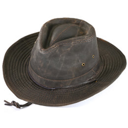 Weathered Outback Style Fedoras for Big Heads fits Size 3XL