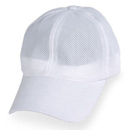 White Coolnit Hats for Large Heads in size 3XL