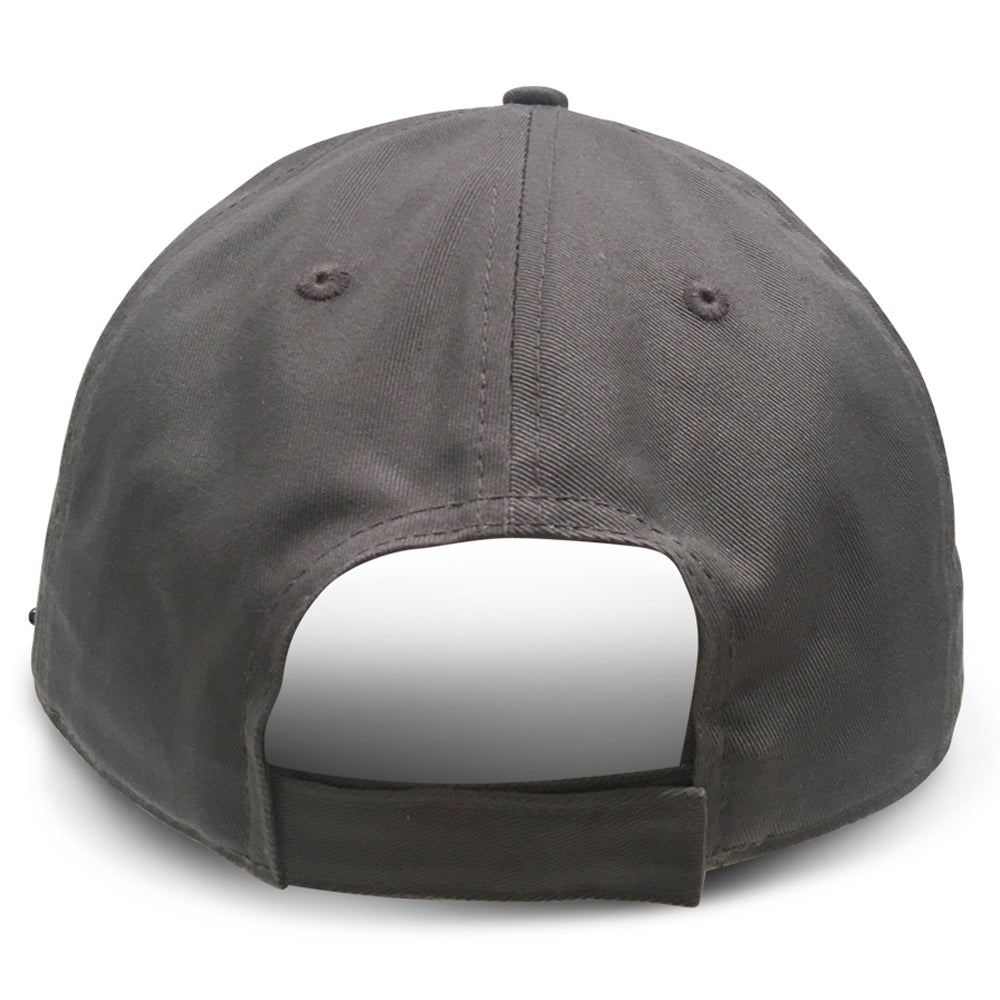 Grey Structured Big Hats that fit 3XL and 4XL sized heads back view