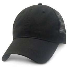 Black Trucker Hats for Large Heads