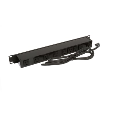 Wiremold J08B0B 8-Outlet Rackmount Power Strip