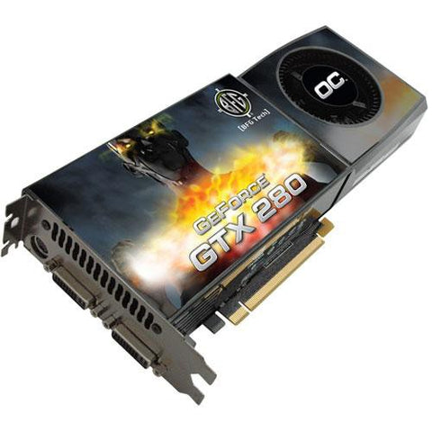 BFG GeForce GTX 280 1GB DDR3 Video Graphics Card BFGEGTX2801024OCE