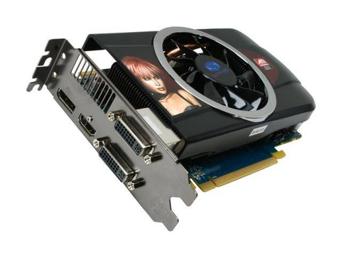 SAPPHIRE Radeon HD 5770 1GB GDDR5 Video Graphics Card 299-1E148-102SA