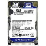 "NEW Western Digital WE1200BEVE PATA IDE 120GB 2.5"" Laptop HDD"
