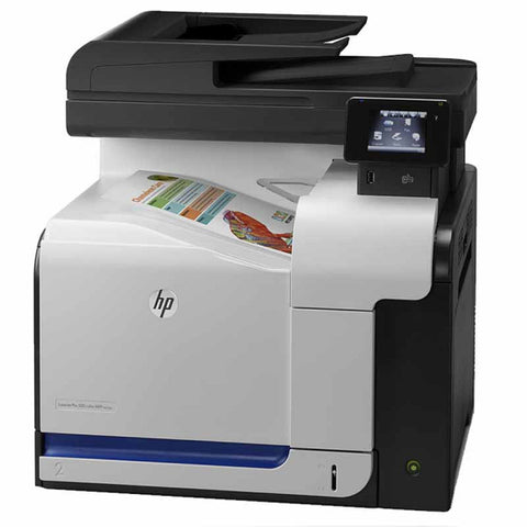 NEW HP LaserJet Pro 500 Color MFP M570DN Printer Open Box