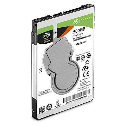 "Seagate ST500LX025 500GB 2.5"" Laptop Thin 7mm SSHD Solid State Hybrid Hard Drive"