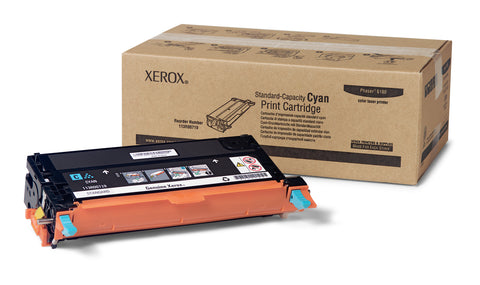 NEW Genuine/OEM Xerox 113R00719 Cyan Toner Print Cartridge For Phaser 6180