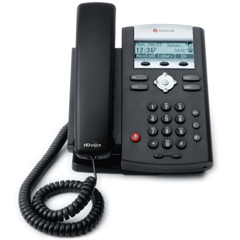 Polycom SoundPoint IP 335 VOIP Business Phone 2200-12375-025