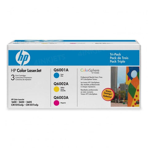 NEW Genuine/OEM HP CE257A Tri-Pack Toner Cartridges Q6001A Q6002A Q6003A