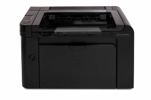 HP LaserJet P1606dn Workgroup Laser Printer - No Toner, No Output Tray
