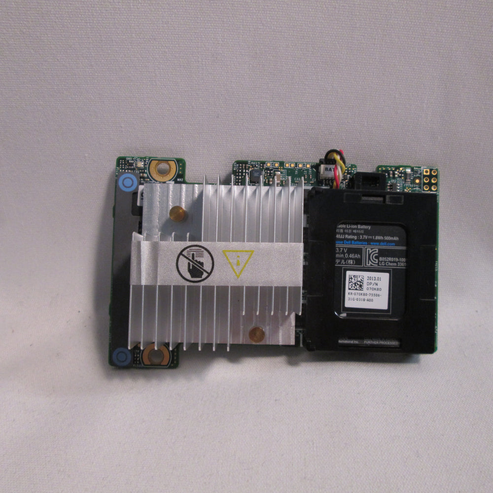 Dell 0MCR5X Perc H710 512MB Mini Mono 6Gbs RAID Controller With 070K80 Battery