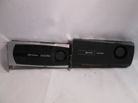 NVIDIA QUADRO 5000 2.5GB GDDR5 Video Card