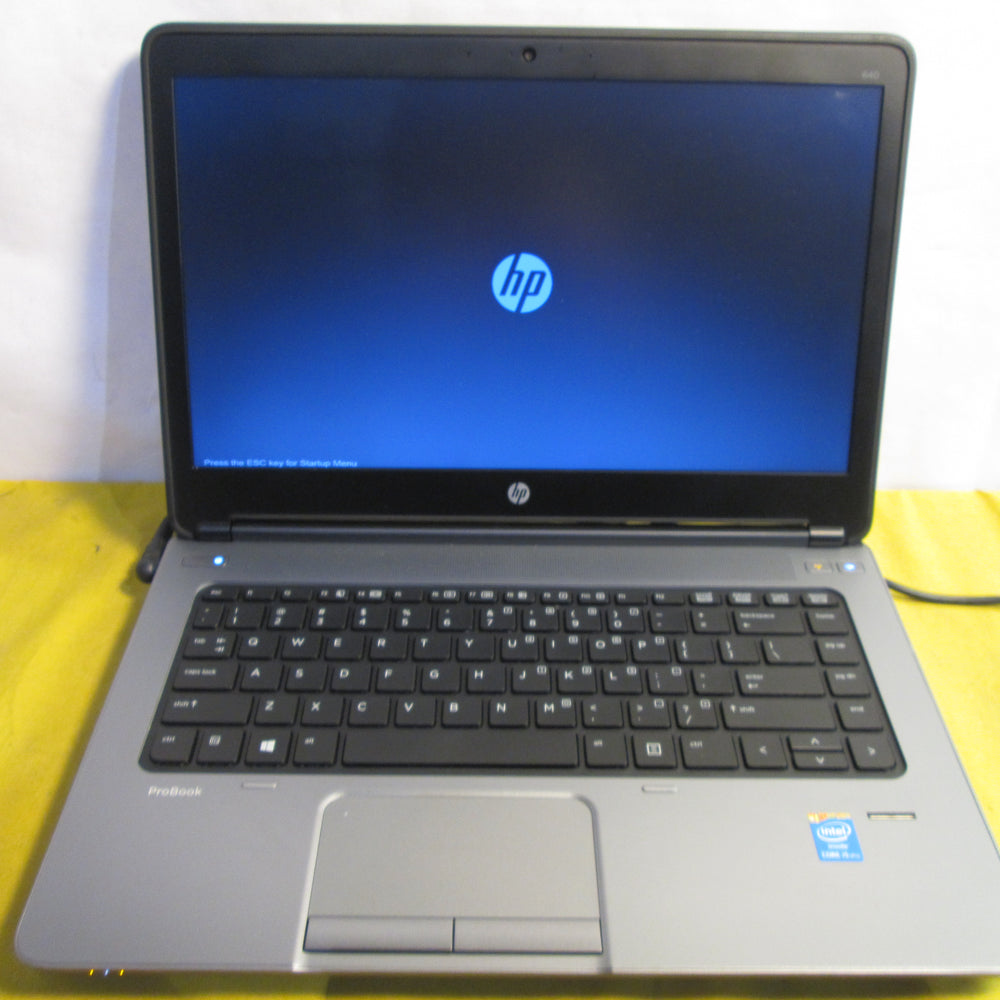 HP ProBook 640 G1 Intel Core i5 2.50GHz 4GB Ram Laptop {Integrated Graphics}