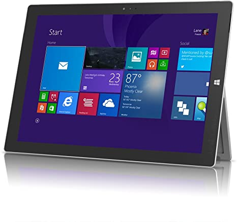 "Microsoft Surface Pro 3 1631 12"" Tablet - Intel Core i7-4650U, 256GB SSD"