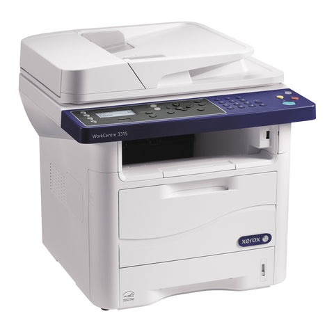 Xerox WorkCentre 3315 All-in-One Multifunction Laser Printer w/ Toner