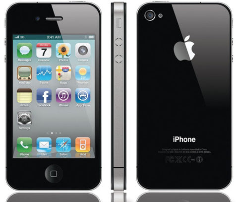 Apple iPhone 4S A1387 16GB Black 3G Cellular AT&T MC922LL/A