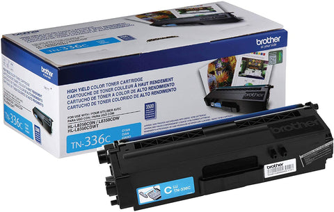 NEW Genuine Brother TN-336C High Yield Cyan Toner Cartridge