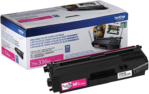 NEW Genuine Brother TN-336M High Yield Magenta Toner Cartridge