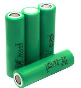 Samsung 25R Battery - Major Vapour