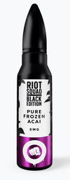Riot Squad Black Edition - Pure Frozen Acai | Major Vapour - Major Vapour