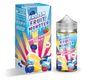 Frozen Fruit Monster - Blueberry Raspberry Lemon Ice | Major Vapour