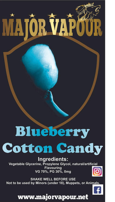 Blueberry Cotton Candy - Major Vapour