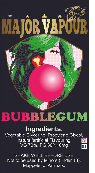 Bubblegum | Major Vapour - Major Vapour
