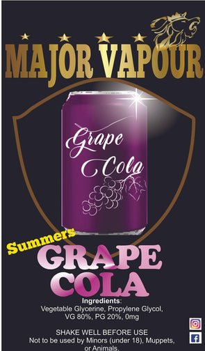 Grape Cola - Major Vapour
