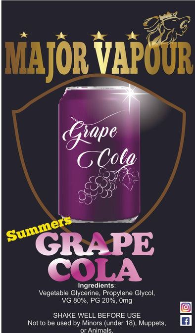 Grape Cola | Major Vapour - Major Vapour