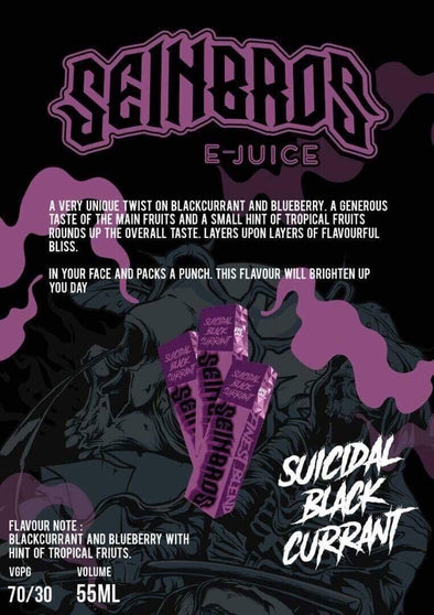 Seinbros - Suicidal Black Currant | Major Vapour - Major Vapour