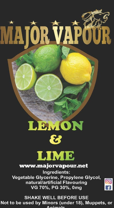 Lemon & Lime | Major Vapour - Major Vapour