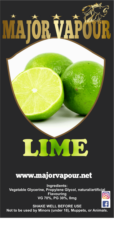 Lime | Major Vapour - Major Vapour