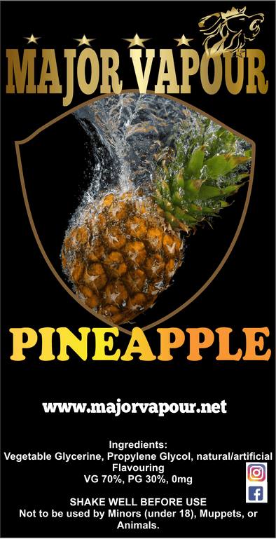 Pineapple | Major Vapour - Major Vapour