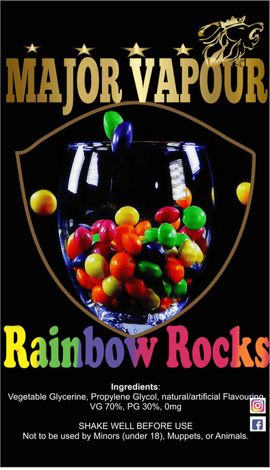 Rainbow Rocks - Major Vapour