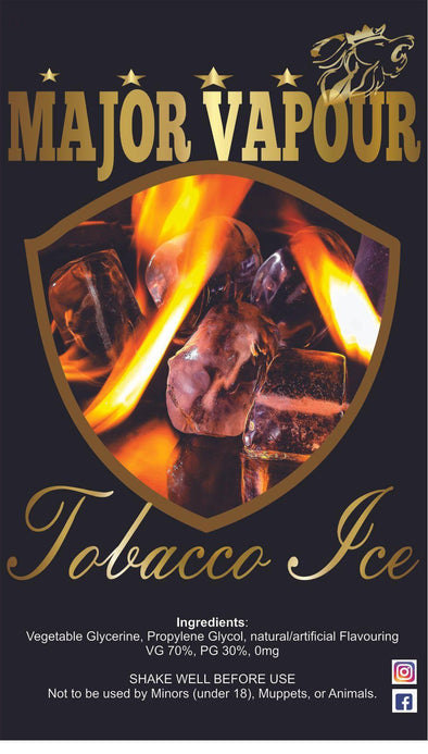 Tobacco Ice - Major Vapour