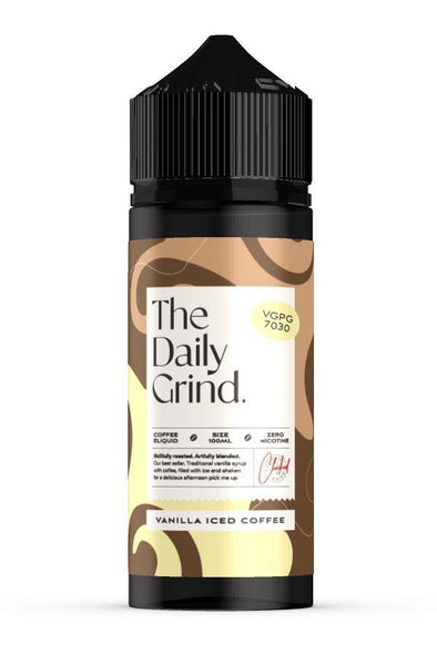 The Daily Grind - Vanilla Iced Coffee | Major Vapour