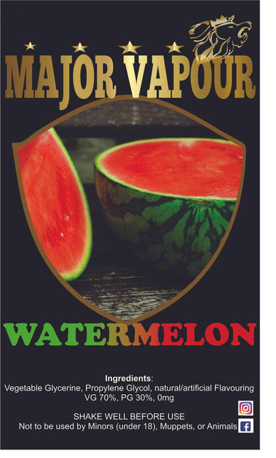 Watermelon - Major Vapour
