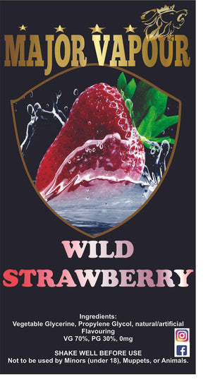 Wild Strawberry - Major Vapour