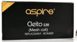Aspire Cleito 120 Mesh Coils 5pk - Major Vapour