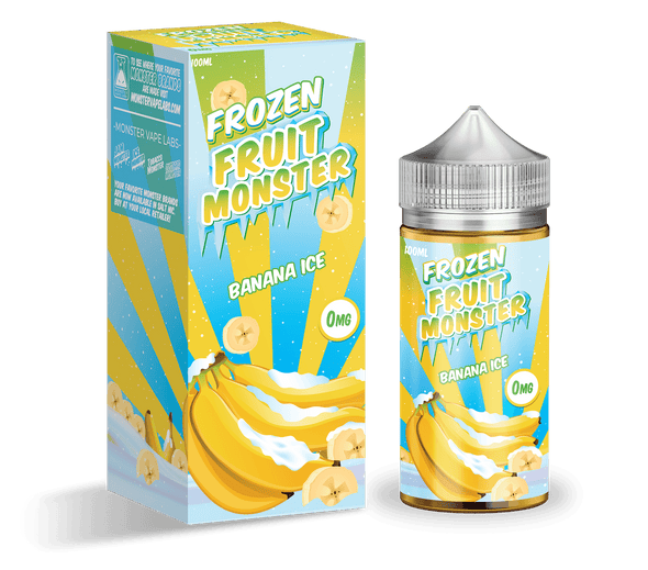 Frozen Fruit Monster - Banana Ice | Major Vapour