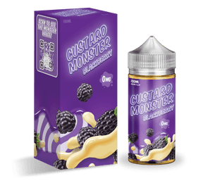 Custard Monster - Blackberry | Major Vapour