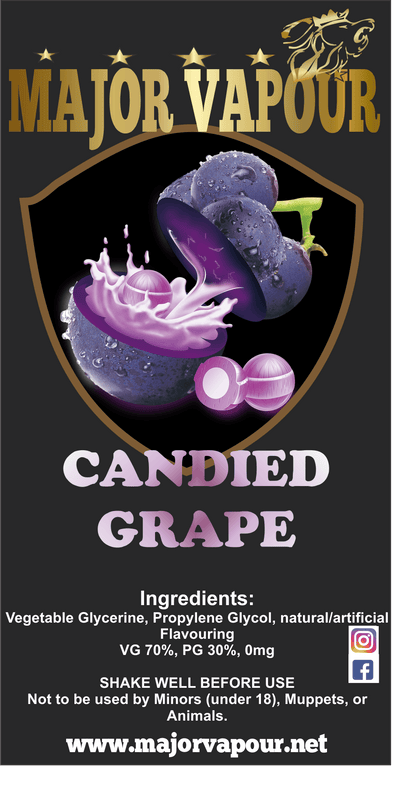 Candied Grape - Major Vapour