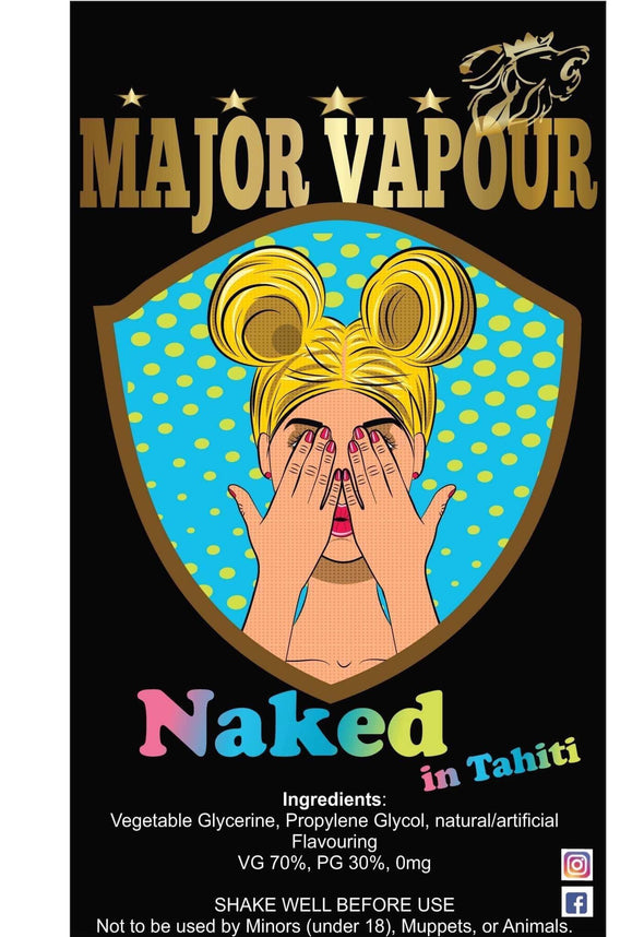Naked | Major Vapour - Major Vapour