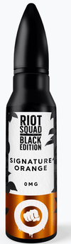 Riot Squad Black Edition - Signature Orange | Major Vapour - Major Vapour