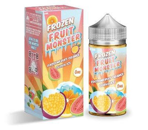 Frozen Fruit Monster - Passionfruit Orange Guava ice | Major Vapour