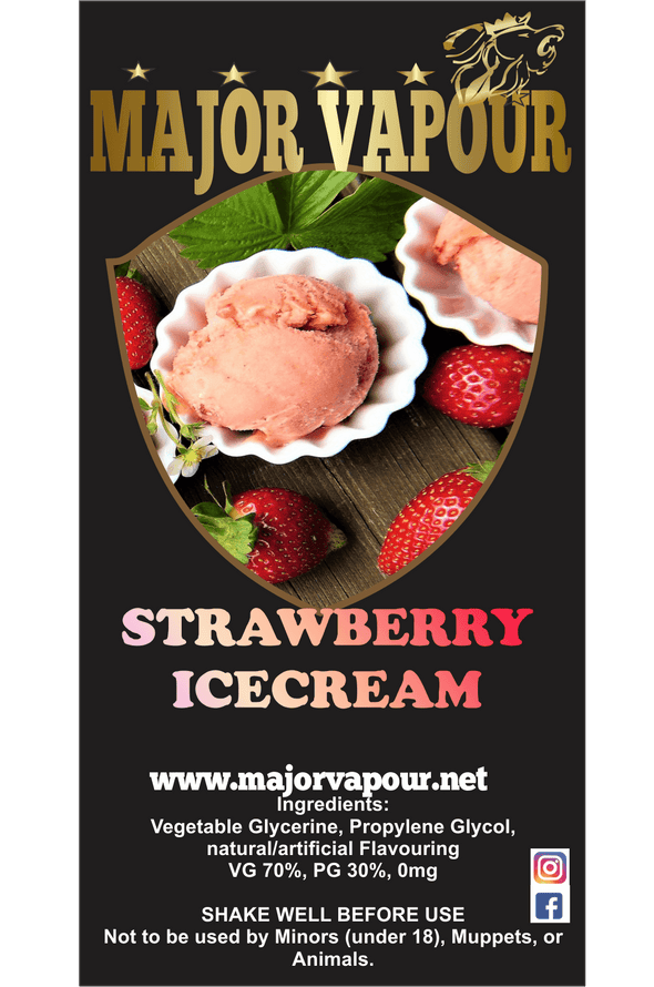 Strawberry IceCream | Major Vapour - Major Vapour