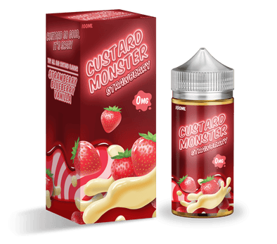 Custard Monster - Strawberry | Major Vapour
