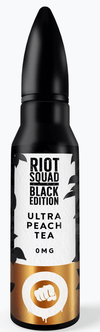 Riot Squad Black Edition - Ultra Peach Tea | Major Vapour - Major Vapour