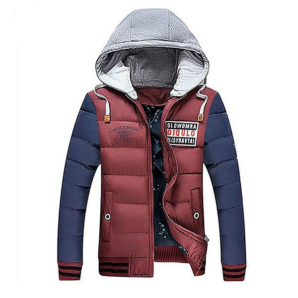 Padded Hooded Warm Zipper Jacket