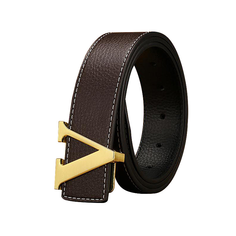V Design Genuine Leather Belts